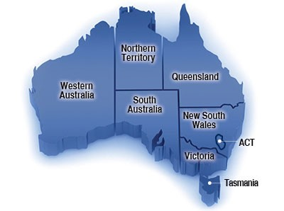 Australia Map Regions.How To Obtain A Small Business Grant In Australia 74 Best Sme Grants