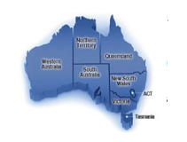 Australia Government Grants Map